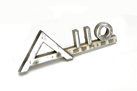 A 110 Emblem