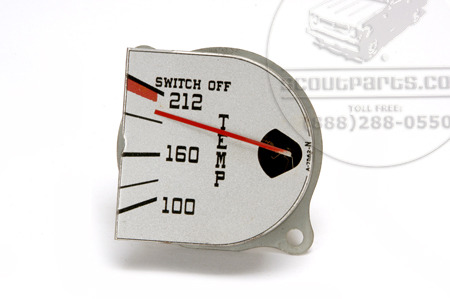 Gauge, Temperature, New Old Stock , D-Series Trucks call for availabiliy