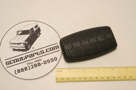 Clutch or Brake Pedal Pad