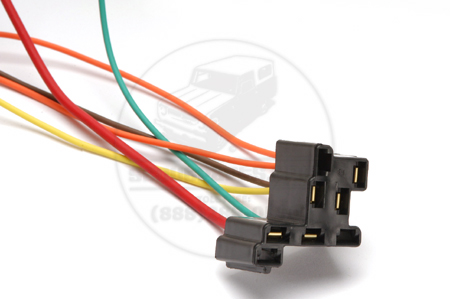 Head Light Switch connector  Wiring Harness Replacement