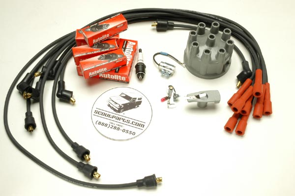 Tune Up Kit  V8  Non Electronic Ignition
