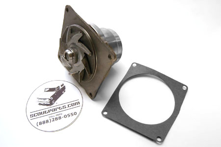 Water Pump for V8 Pickups and Travelalls