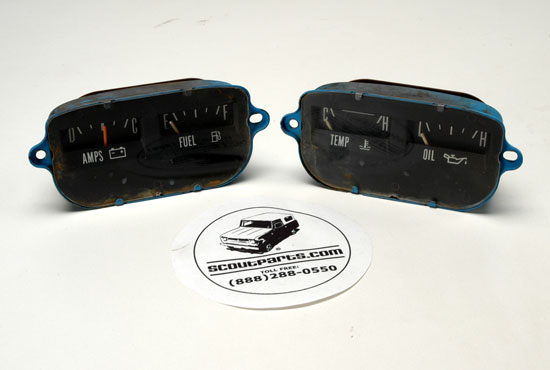Gauges for instrument panel Tested and working  - used