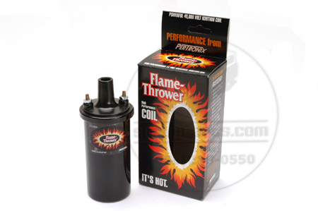 Chrome or Black Pertronix Flame Thrower Ignition  Coil