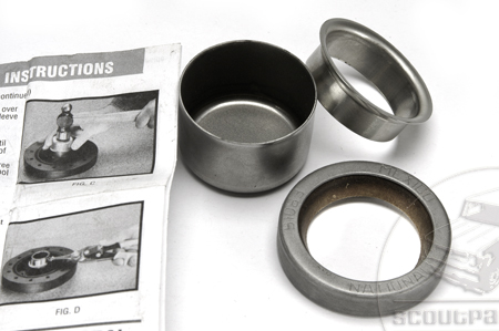 Drive Shaft Repair  International T1, T2 3 Spd. Seal and Sleeve  Kit!
