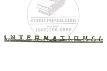International Emblem 13.5 inches long