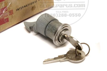 Glove Box Door Lock New Old Stock