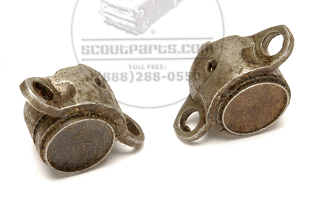 U-Joint Caps 3-DR (flanged, tapped for grease plug) New Old Stock--- SEE DETAILS FOR APPLICATION!!!!!