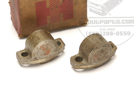 U-Joint Caps 2-CR (flanged, tapped for grease fitting) New Old Stock--- SEE DETAILS FOR APPLICATION!!!!!