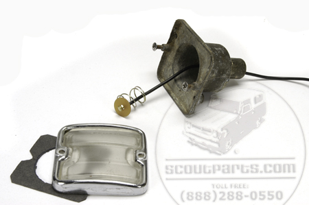 Light Socket Repair Kit- Single Contact Pig Tail and Socket