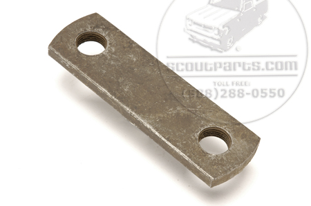 Shackle Plate, Rear Spring outer K/KB 1-3 New Old Stock