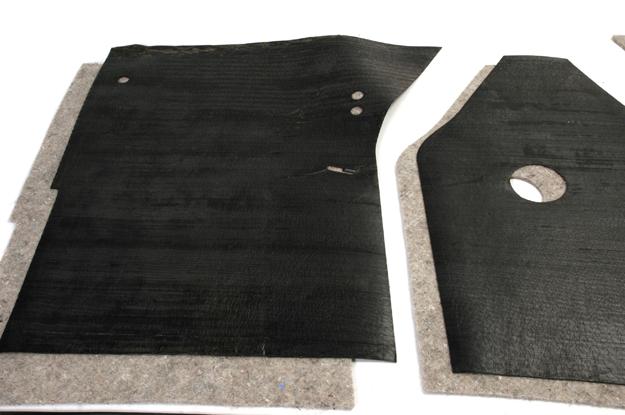 Floor Mat, Sound Deadener, and Pad A & B series trucks & Travelall