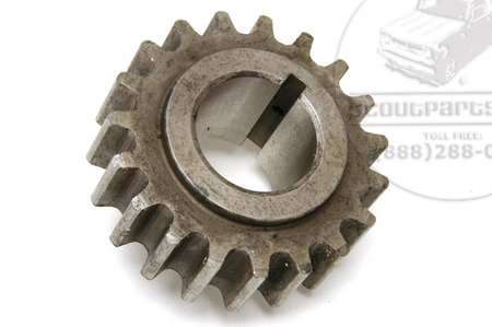 Timing Chain Sprocket, Crankshaft, Green Diamond