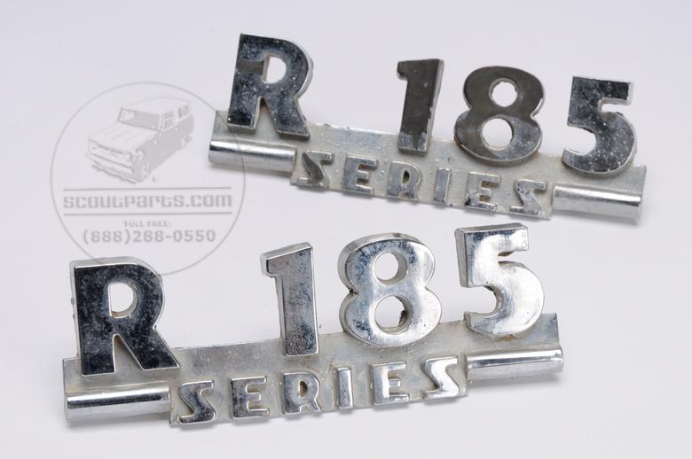 R-185 Emblems - USED