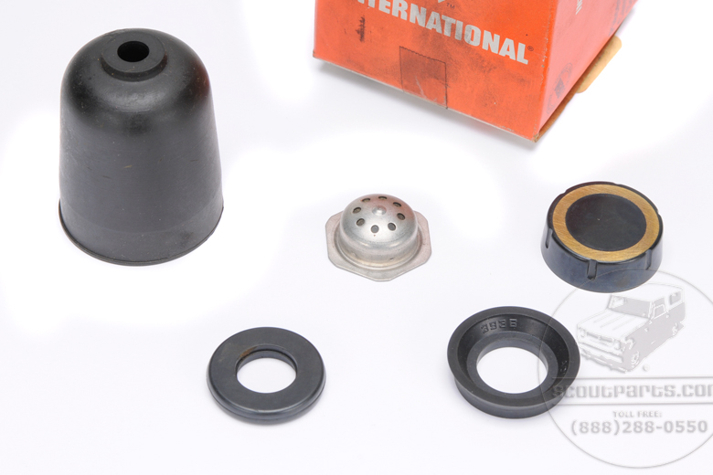 Dual reservoir master cylinder rebuild kit - Brake side