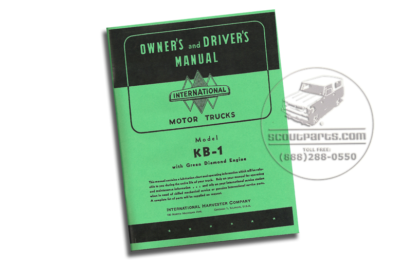 Owners Manual  K and KB Trucks
