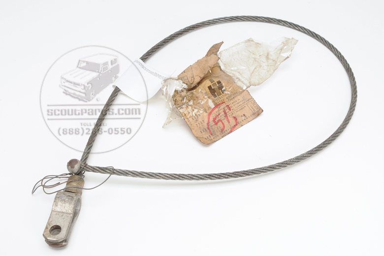 Tail Gate Cable New Old Stock