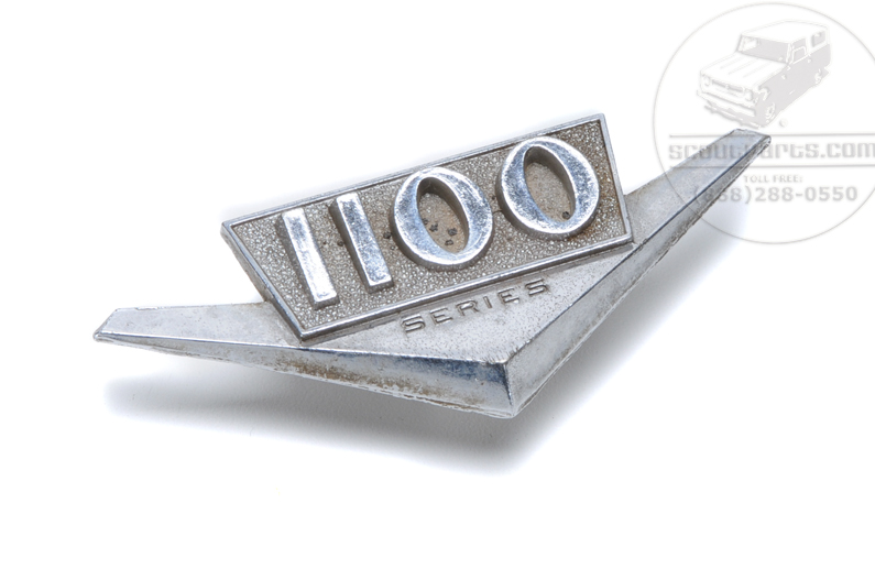 1100 emblem - Trucks and Travelall 1961 to 68