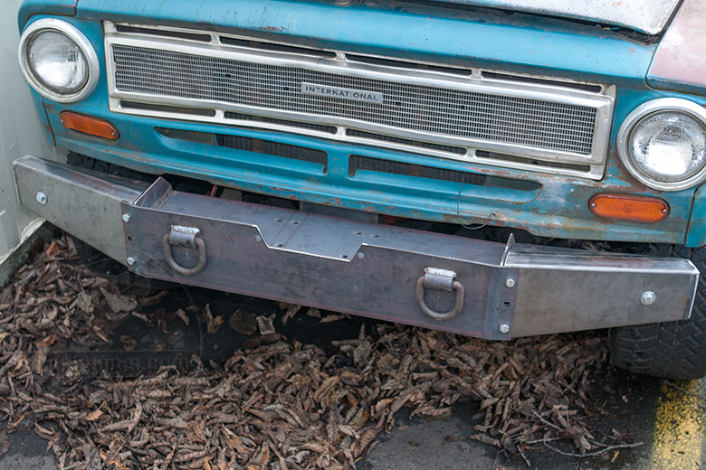 Winch Bumper (Heavy Duty) - 1961-1968 Travelall, Pickup