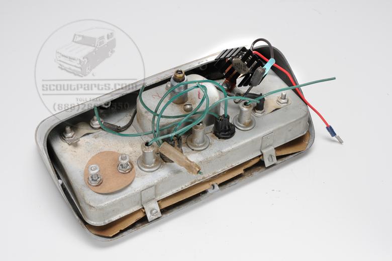 Voltage Regulator, with cooling fins.