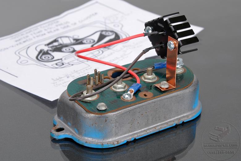 Voltage Regulator kit for 69 - 75 Gauges. Easy to install - NO soldering