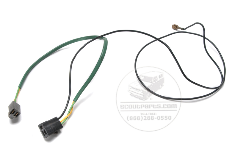 Harness Radio Wiring - connects radio and speaker