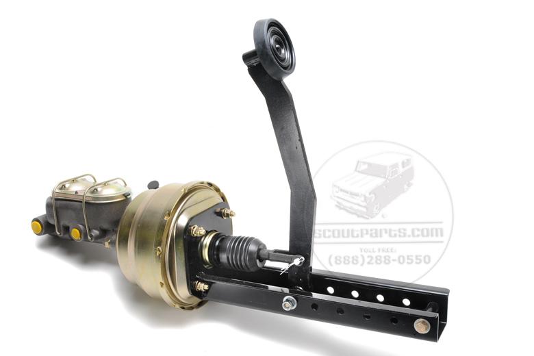 Brake master booster Power Brake system - Master, Booster & Pedal, universal kit