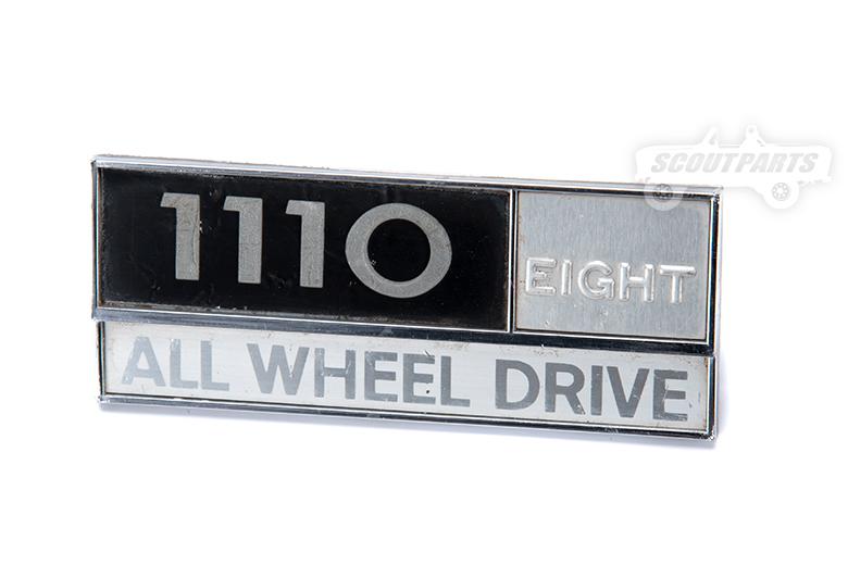 Emblem 1110 - used