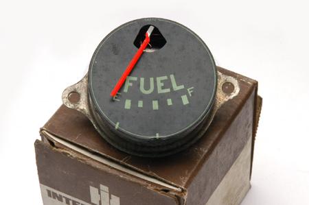 Gauge, Fuel, Green Lettering, New Old Stock - R,S, model truck