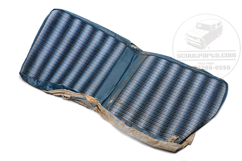 Bench seat cover - New old stock blue