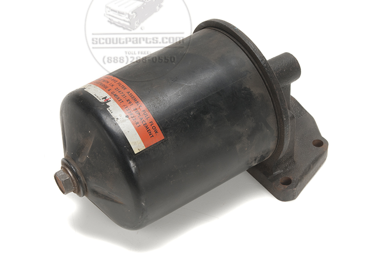 Oil Filter Assembly - Canister Type- New Old Stock