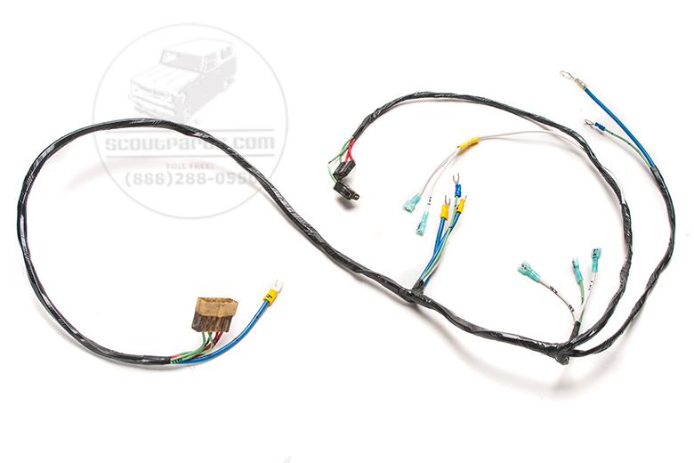 Harness right head light, turn signal, Alternator regulator and horn.  1961-65