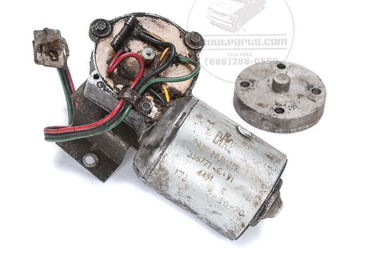 Wiper Motor 12 Volt New Old Stock