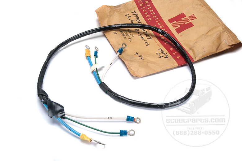 Wiring Harness - Starting Control Harness  V8 1959 to 1960
