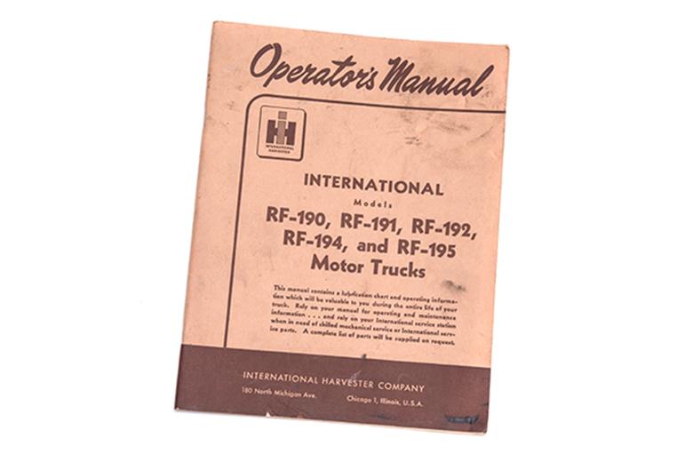 Operators Manual R series