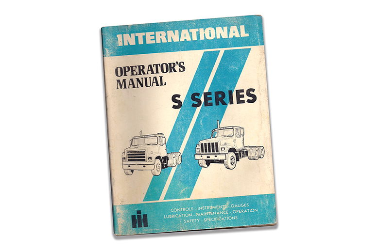 International S Series Operators Manual