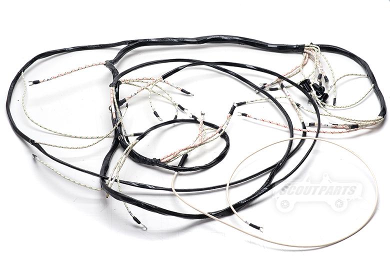Wiring Harness - Main Under Dash 55-53 - R-Series