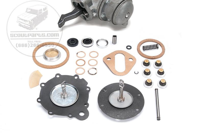 Fuel Pump Vacuum Pump Rebuild Kit - 8 screw