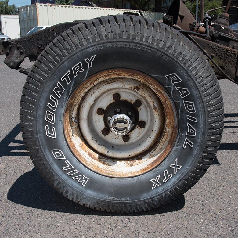 Wheel 6 Lug 3/4 Ton Steel Wheels - NOT SPLIT RIM