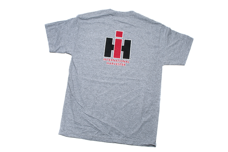 Grey-Heather IH Pocket T-Shirt