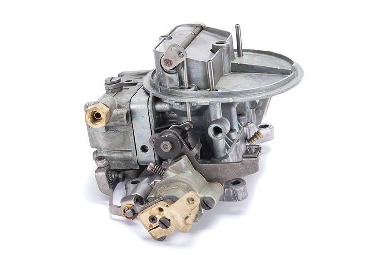 Carburetor With Governor Remanufactured by IH - Two Barrel Carb