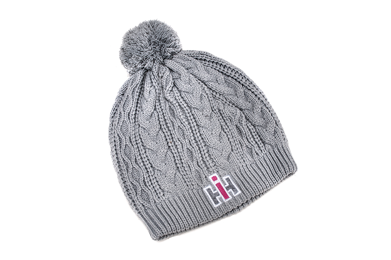 NEW IH Womens Gray Knit hat
