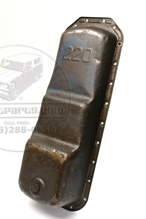 International 6 Cyl Oil Pan - used.