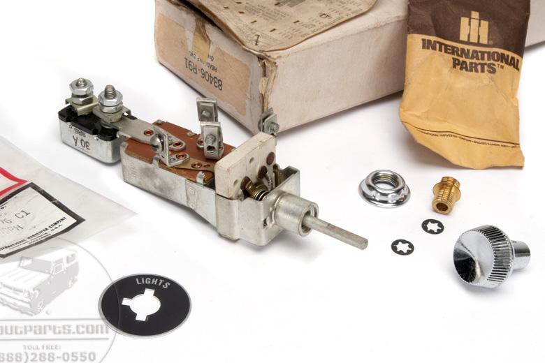Light Switch Kit, new old stock