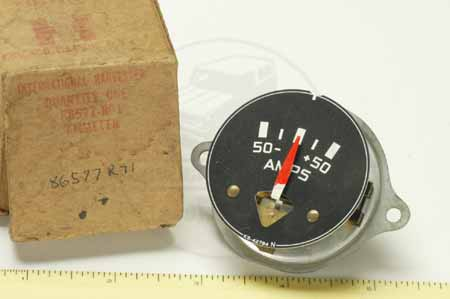 amp meter ammeter new old stock