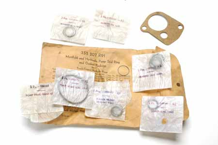 Manifold and Hydraulic Pump Seal Ring and Gasket Package  - New Old Stock international harvester IH