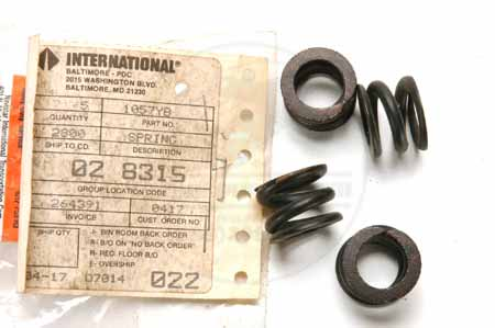 New Old Stock International Harvester Spring Cor