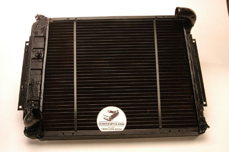 Rebuilt Radiator for 69-75 Travelall & Pickup
