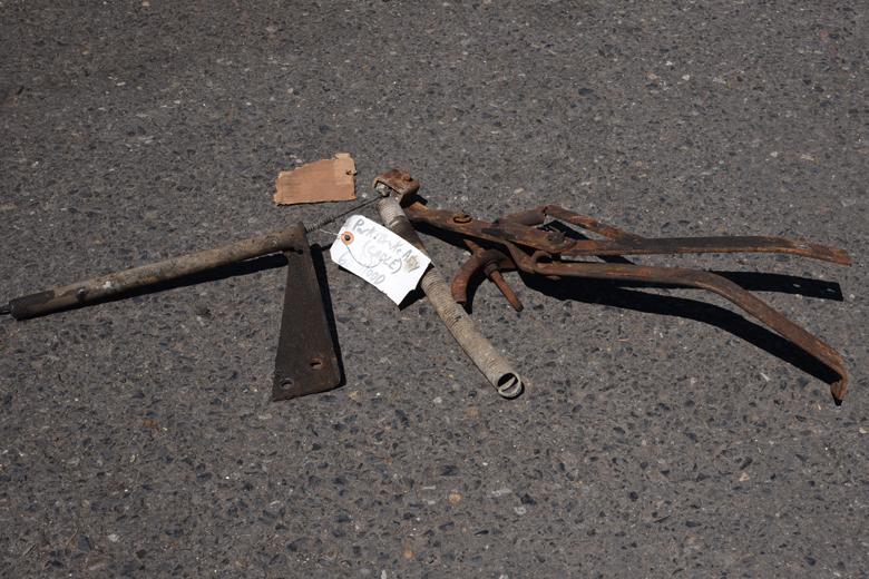 Emergency brake linkage - used 1968 3/4 ton 4x4