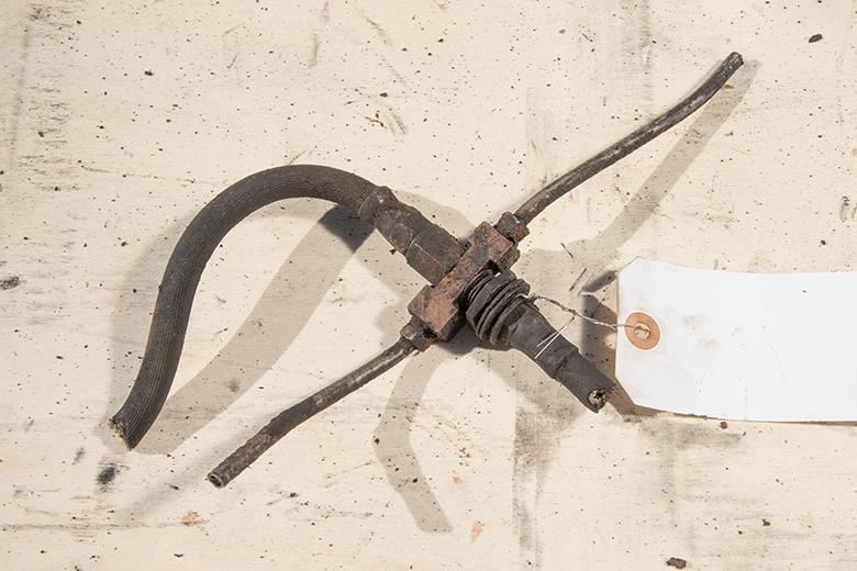 junction Front Brake Through Frame Fitting
